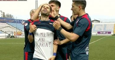 """""""Gică Fentă"""" a înscris de ziua lui și a fetiței sale, Ilaria! Ce cadou mai frumos își poate face un fotbalist?"""