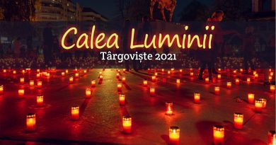Imagini: Calea Luminii 2021, Târgoviște