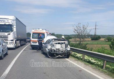 """DN 72: Două bătrâne accidentate de un șofer care a """"forțat"""" în trafic"""