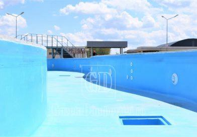 Pregătiri pentru redeschiderea Aguapark-ului din cadrul Complexului de Natație din Târgoviște