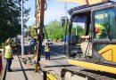 TÂRGOVIȘTE: Lucrări și la pasajul de pe Șoseaua Găești! Luați în calcul aglomerația creată în zonă