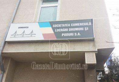 ANUNȚ: Lista de lucrări, produse și servicii oferită de S.C. LUCRĂRI DRUMURI ȘI PODURI DÂMBOVIȚA S.A.
