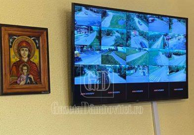 A devenit funcțional sistemul de supraveghere video de la Butimanu