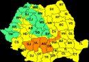 DÂMBOVIȚA: Cod Portocaliu până la ora 22:00