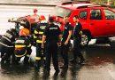 Pompierii dâmbovițeni intervin cu cinci motopompe în sprijinul colegilor din Vrancea