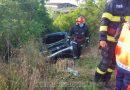 Petrești: Două persoane au fost rănite într-un accident rutier