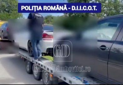 """DÂMBOVIȚA: Autoturisme de lux, bani și bijuterii, rodul """"muncii"""" a 20 de tinere obligate să practice prostituția"""