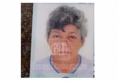 O femeie din Scheiu de Sus, de negăsit de pe 20 iunie
