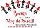 Târg de Rusalii, la Târgoviște! Producătorii vin în perioada 18 -21 iunie pe Platoul Sălii Polivalente