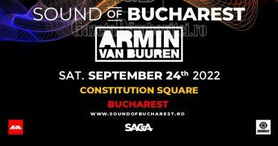 Sound of Bucharest se reprogramează –  cel mai mare solo show Armin van Buuren va avea loc pe 24 septembrie 2022, la București