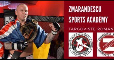"""""""Zmărăndescu Sports Academy"""" și-a deschis porțile pentru dâmbovițenii care vor să se antreneze cu un campion"""