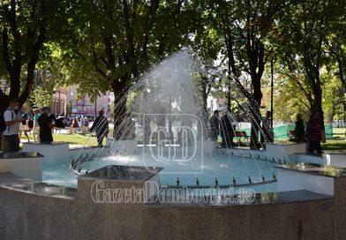 TÂRGOVIȘTE: Parcul Mitropoliei a fost redeschis publicului. Cum arată