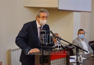 """Streinu-Cercel, la Târgoviște: """"Nu avem alte instrumente decât să ne vaccinam, să purtăm mască și să ne spălam pe mâini"""""""