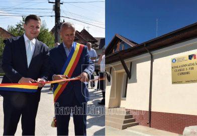 Școală nouă, la Căprioru! Primarul, decis să responsabilizeze cadrele didactice pentru a proteja investiția