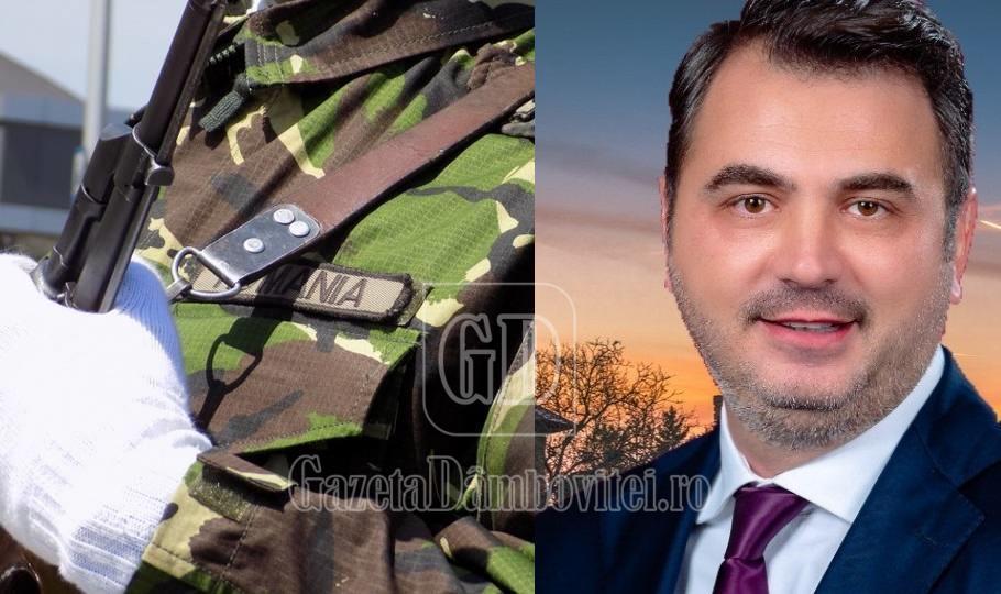 """Radu Popa: """"Onoare și respect tuturor militarilor români"""""""