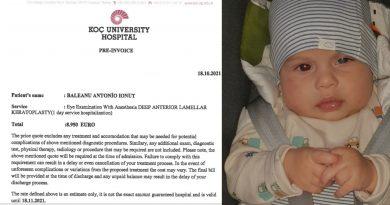Lumea lui Antonio ar putea fi mai frumoasă cu ajutorul medicilor turci. Este nevoie de 8950 de euro
