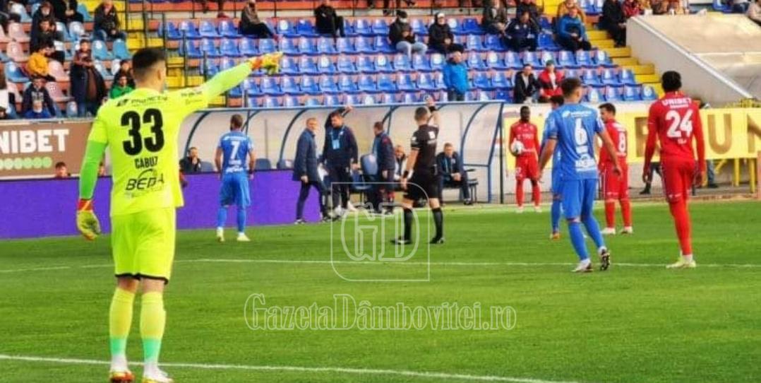 Un punct mare la Botoșani pentru Chindia! Inferioritate numerică și jumătate din echipă absentă…