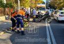 Târgoviște: Un motociclist a izbit în plin o femeie care traversa neregulamentar