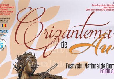 """""""Crizantema de Aur"""" păstrează tradiția! A 54-a ediție se va desfășura cu respectarea tuturor normelor sanitare"""