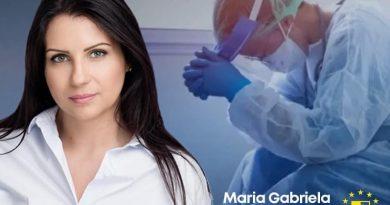 """Îndemnul deputatului Gabriela Horga: """"Să îi ascultăm pe medici!"""" Aceasta a postat mesajele unor doctori care luptă cu Covid-19"""