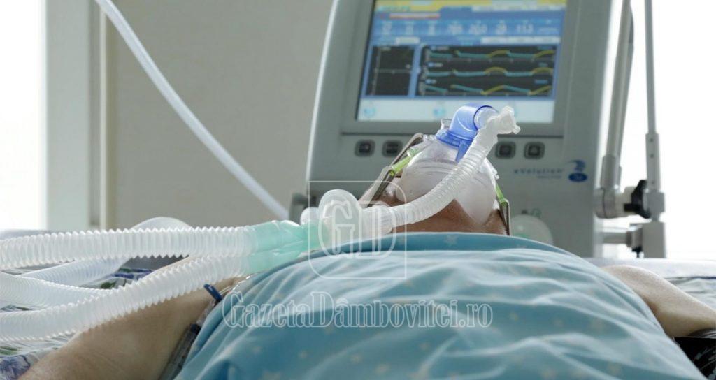 DÂMBOVIȚA: Pentru că nu mai sunt locuri, spitalele trebuie să suplimenteze paturile pentru pacienții Covid-19